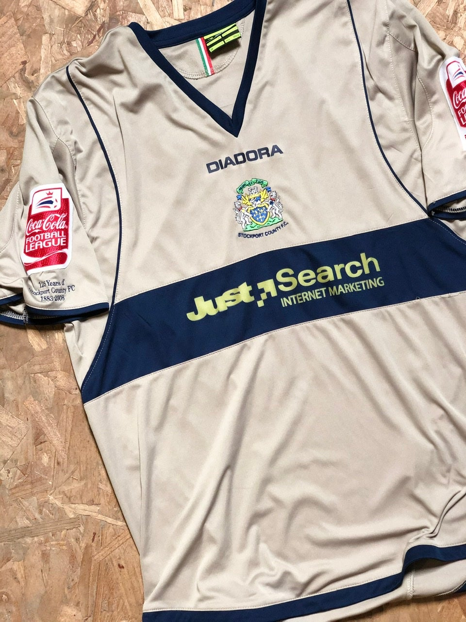 Image of Match Issue 2008/09 Diadora Third Shirt
