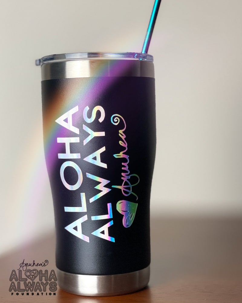 Image of Aloha Always Black Tumbler
