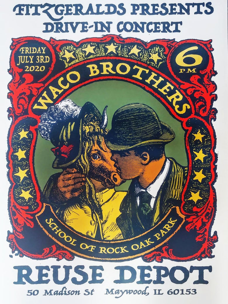 Image of Waco Brothers poster