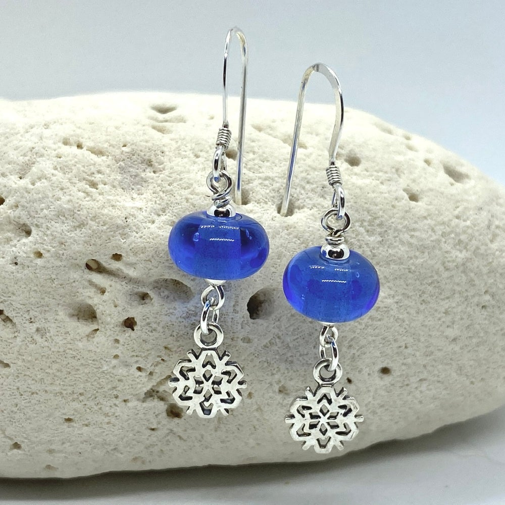 Image of Winter Sky Dangle Earrings (two colours)