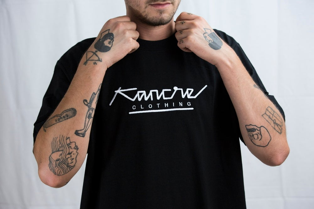 Image of TYPO -T KANCRE BLANC / NOIR
