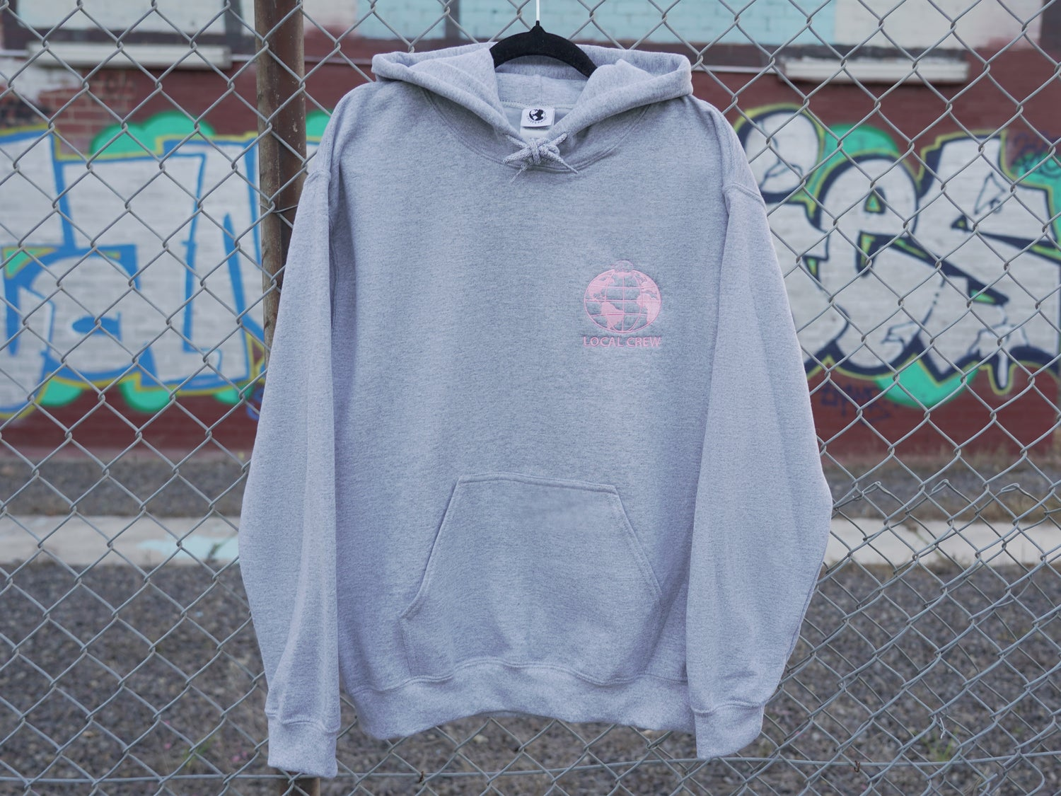 Image of Local Crew Hoodie (Grey)