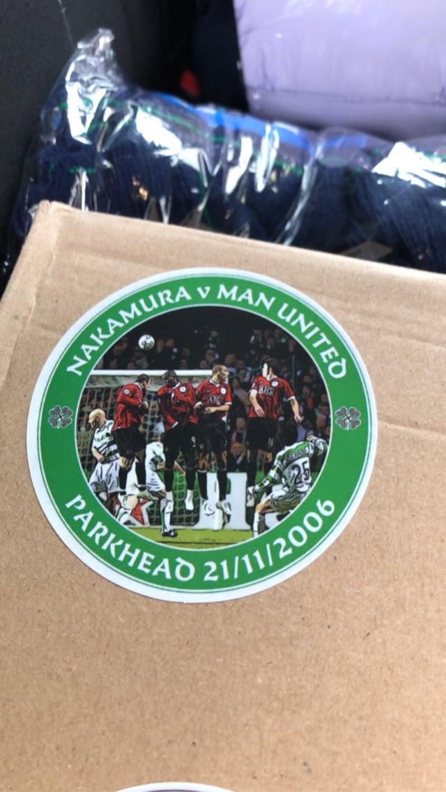 Nakamura Stickers