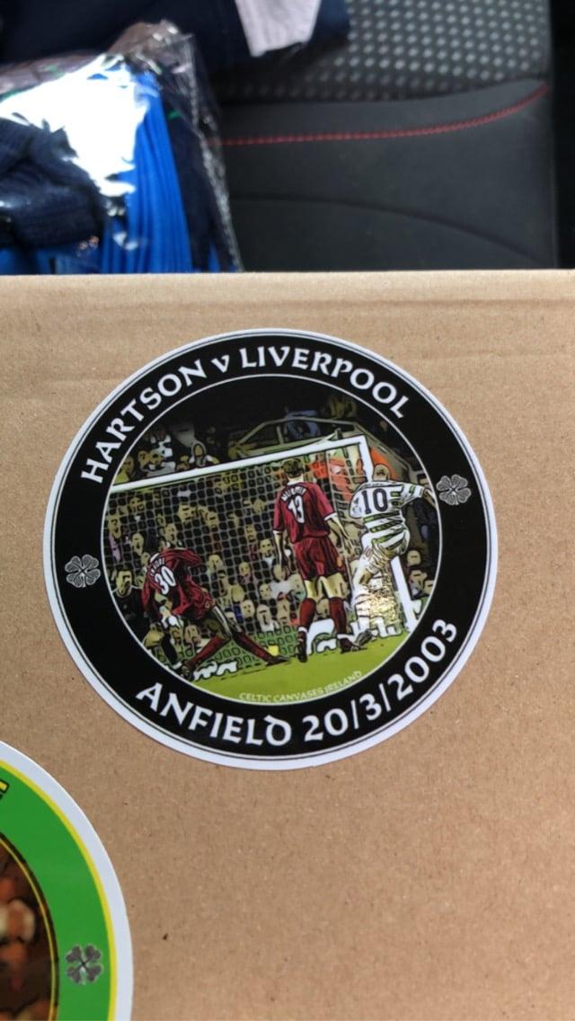 Hartson Stickers