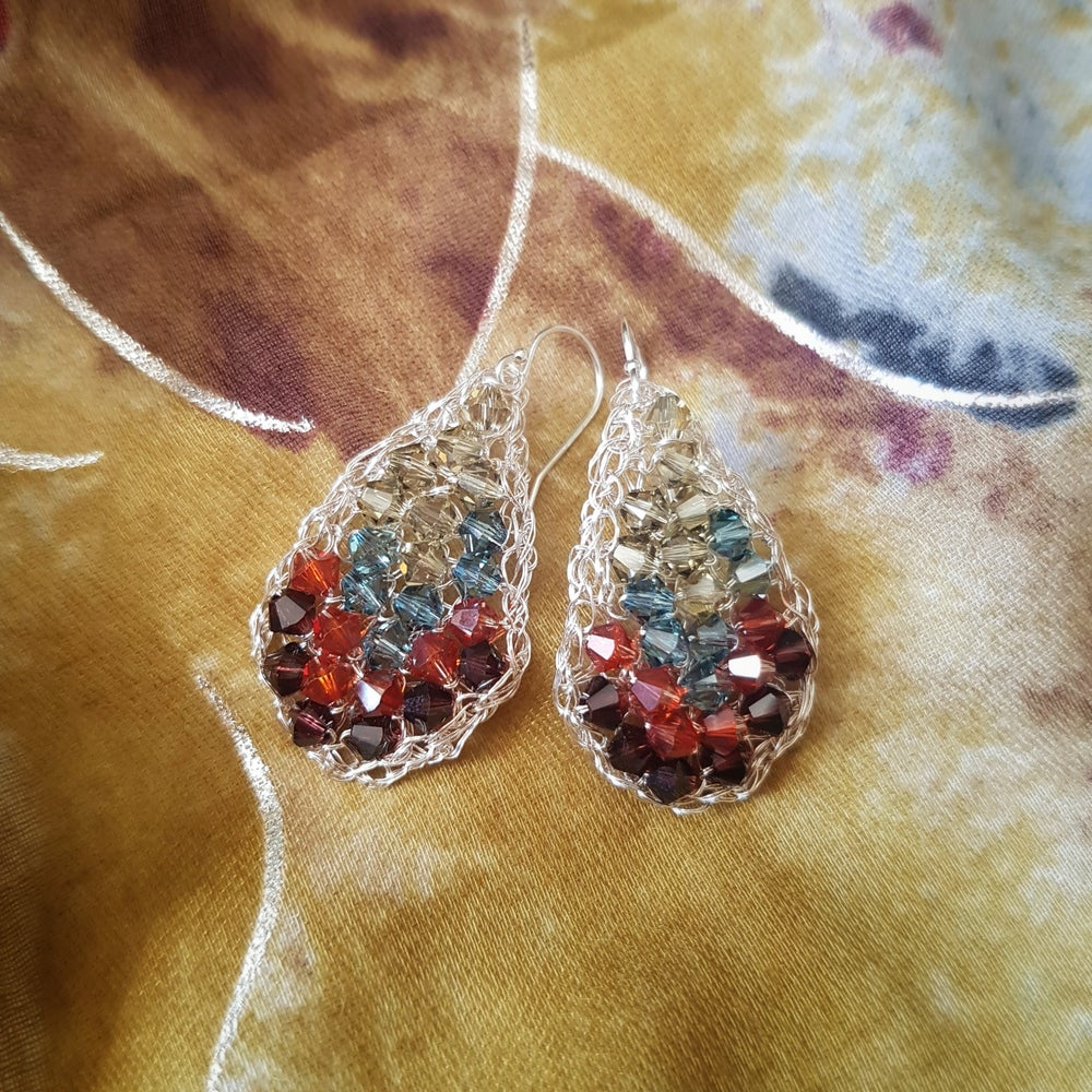 Image of CYPRESS Earrings - Ancient Tiles