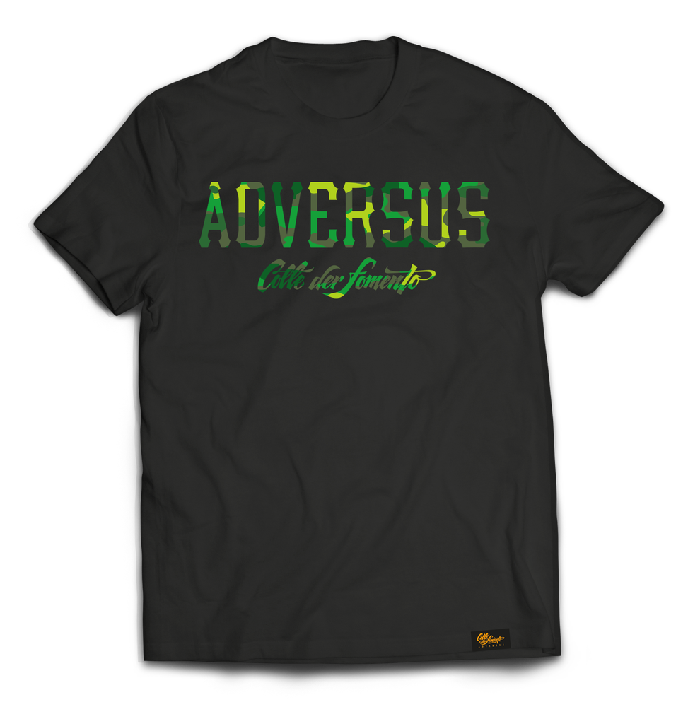 Image of ADVERSUS t-shirt Black