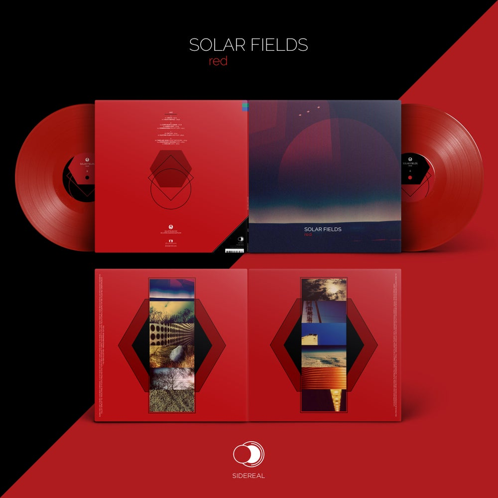 "Image of Solar Fields ""Red"" 2LP (red-8227 vinyl, single product purchase)"