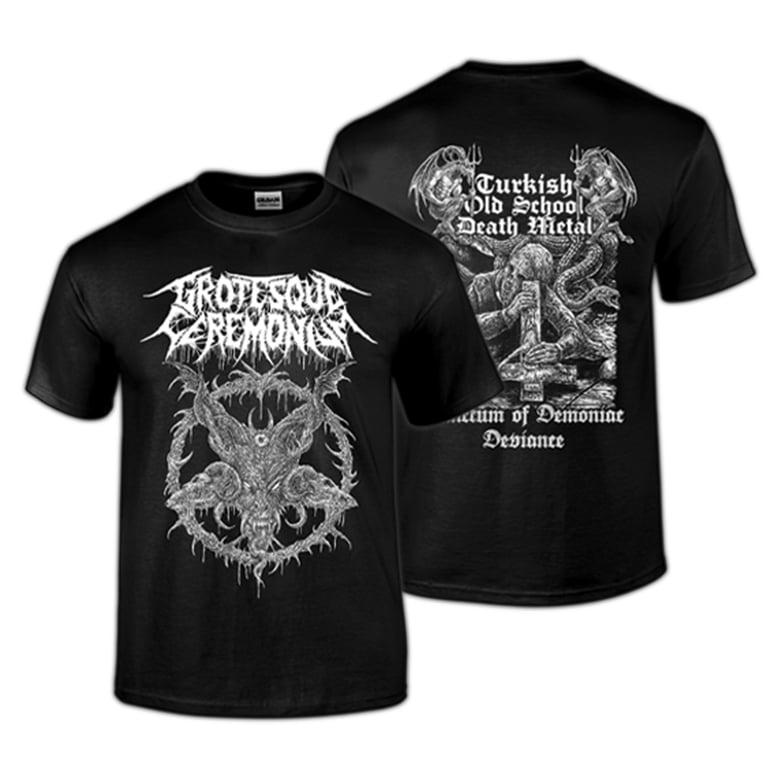 Image of Grotesque Ceremonium - WARGOAT Shirt PREORDER