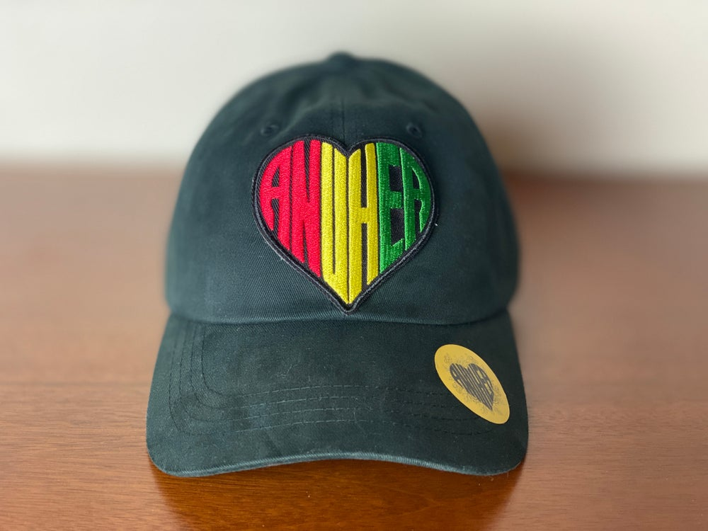 """Image of NEW!! RYG Anuhea Heart """"Dad"""" Hat"""