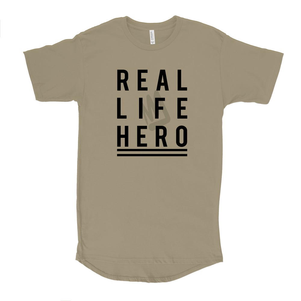 Image of REAL LIFE HERO Urban Long Tee