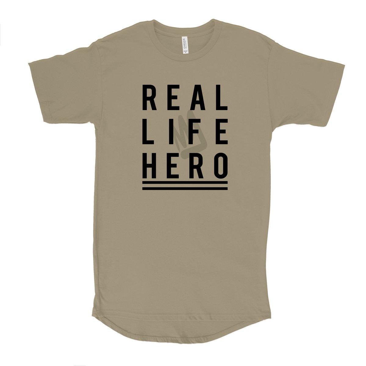 Image of REAL LIFE HERO Urban Long Tee