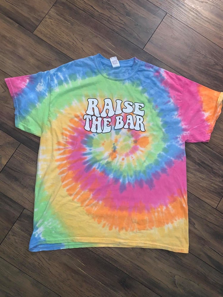 Image of Raise The Bar Vintage Design - Tie Dye PASTEL (Eternity)