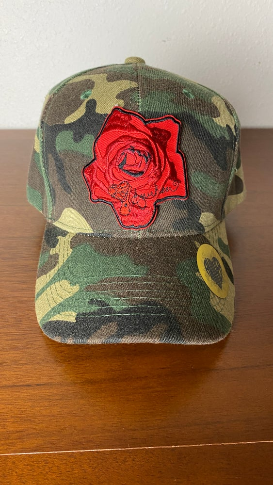 Image of NEW!! Camo Rose Hat