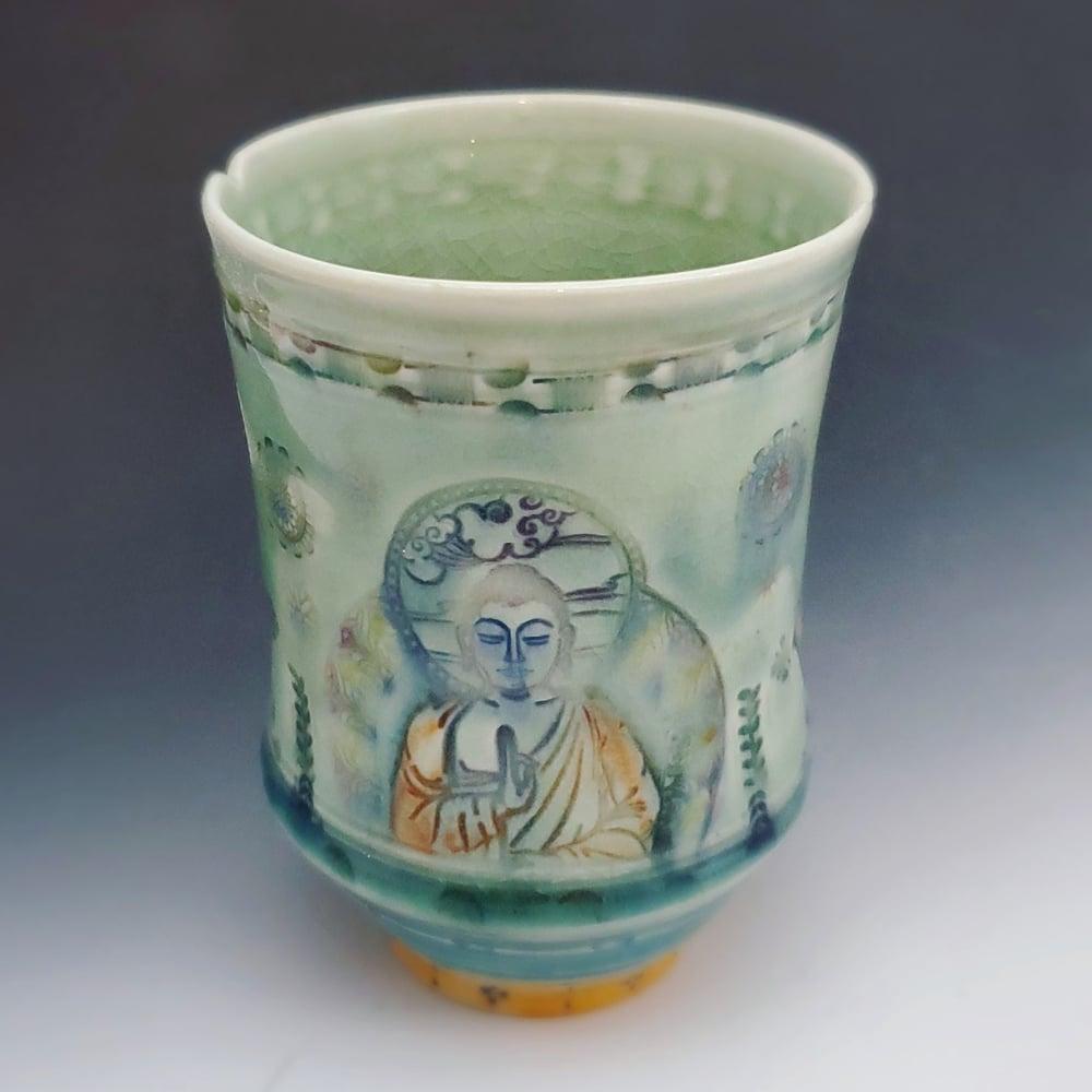 Image of Bhudda Serenity Tea Tumbler