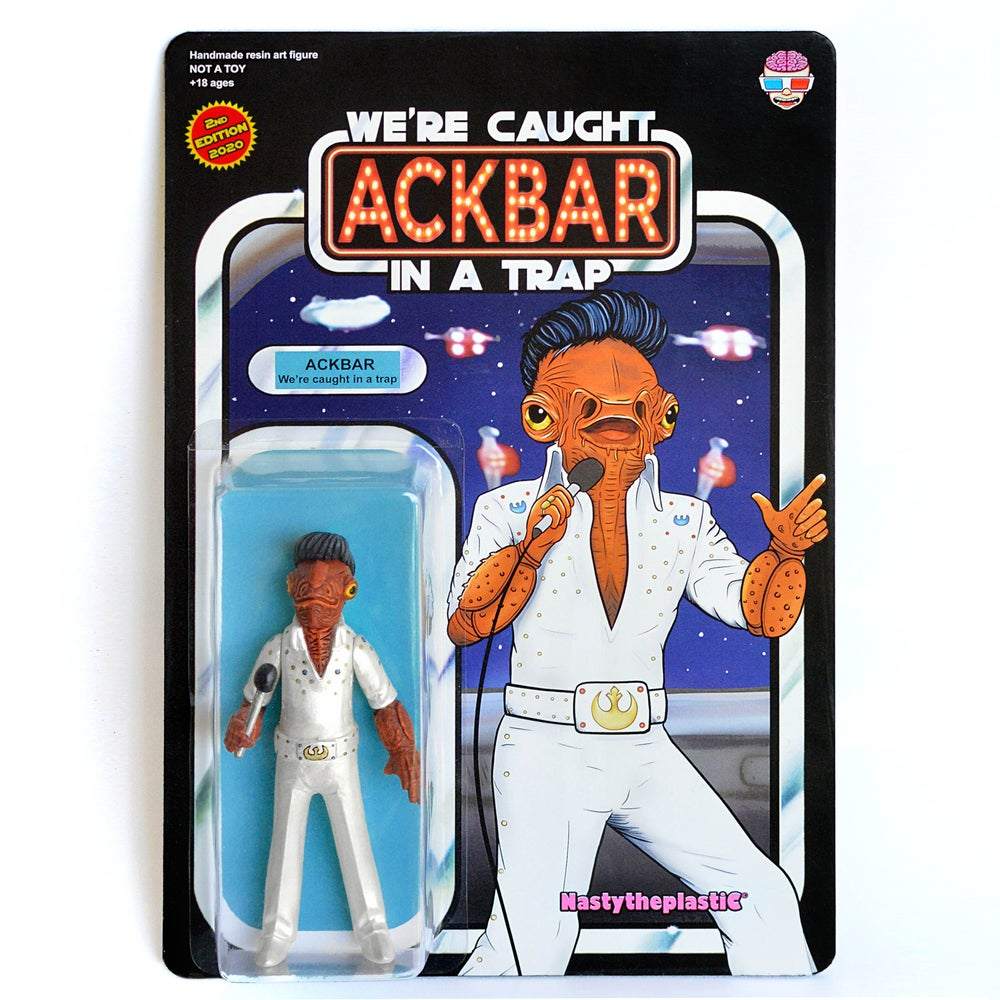 Image of (PRE-ORDER) 2nd wave - WE'RE CAUGHT IN A TRAP - Admiral Ackbar