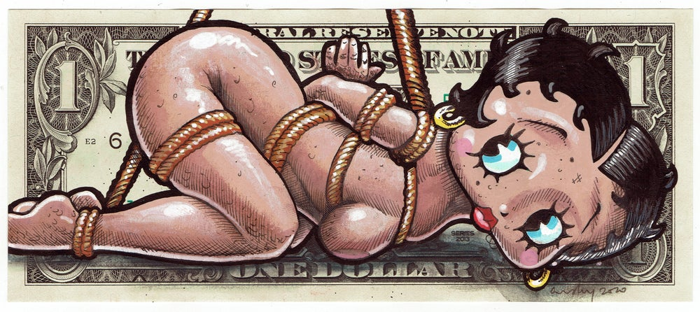 Image of Real Dollar Original. Hogtied Boop.