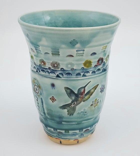 Image of Garden Felicity Porcelain Vase/ Tumbler