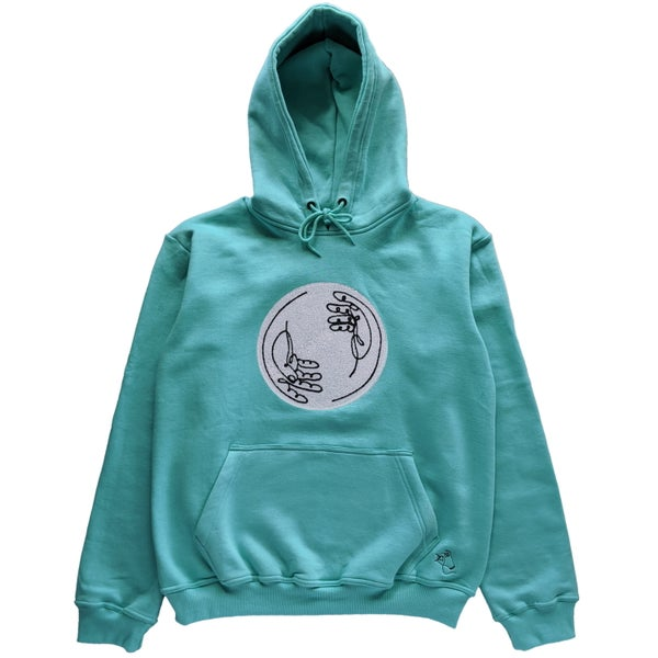 Image of Chenille Spiral Hoodie