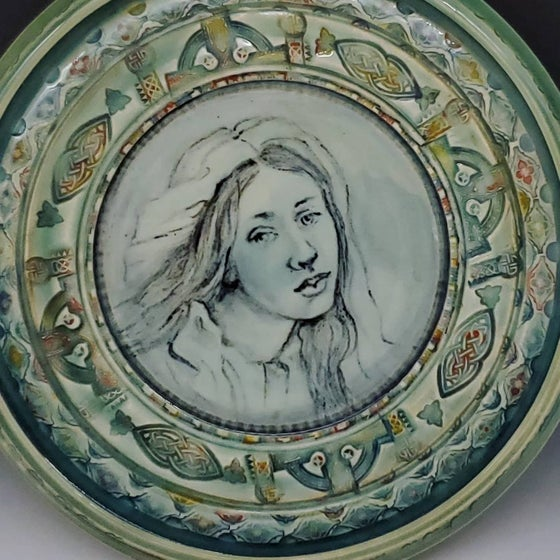 Image of Portrait of Beatrice in Porcelain