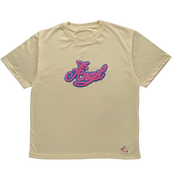 Image of Cream Angel Baby Tee