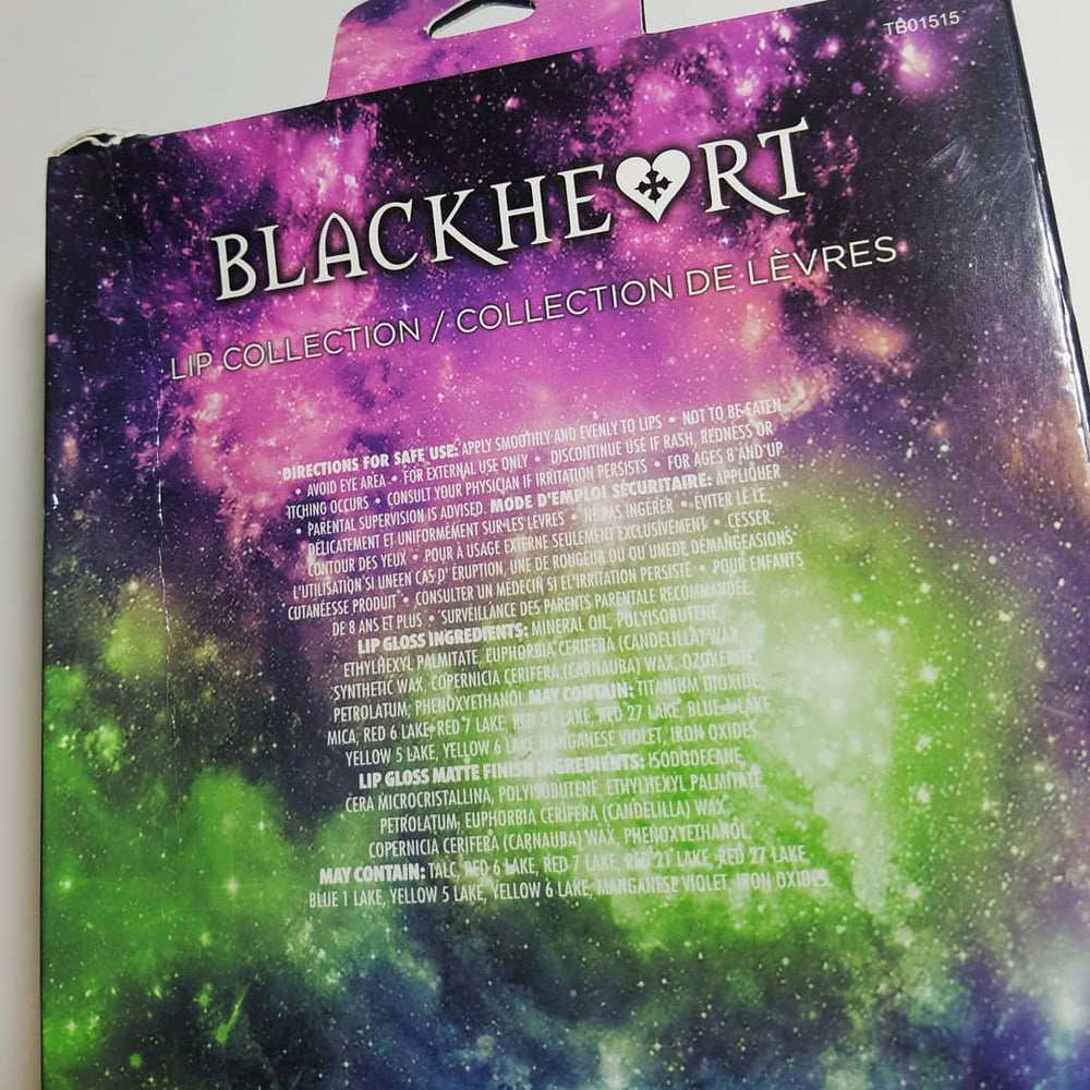 BlackHeart Beauty Alien Head Lip Creme Collection