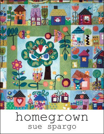 Image of Homegrown Book by Sue Spargo