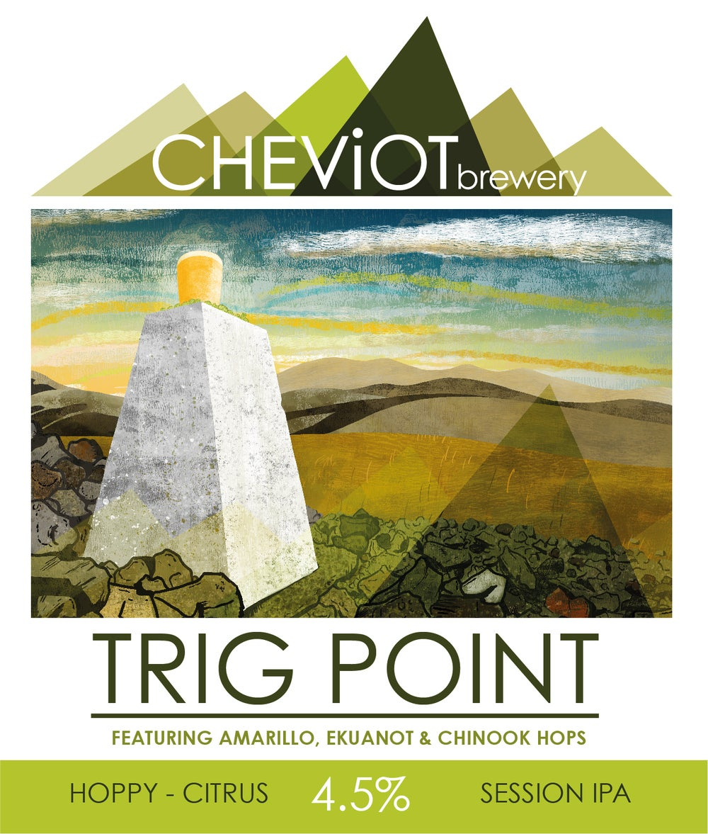 Image of 6X TRIG POINT - 500ML BOTTLE (4.5%) SESSION IPA