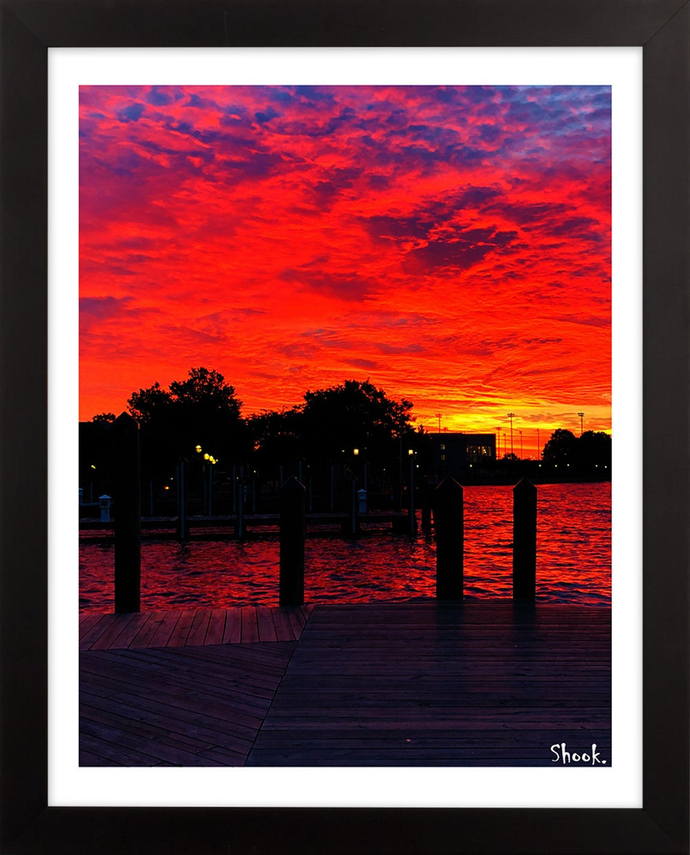 "Annapolis Sunrise and Sunset Two Print Set - 8"" x 10"""