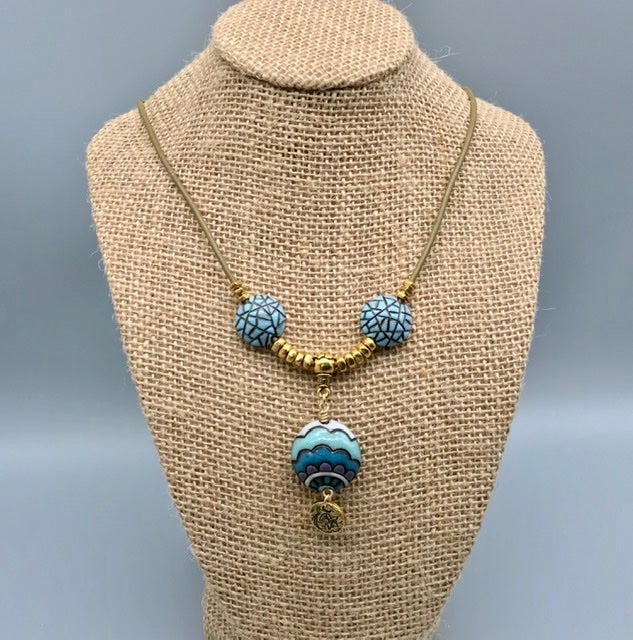 Image of Blue Waves Necklace