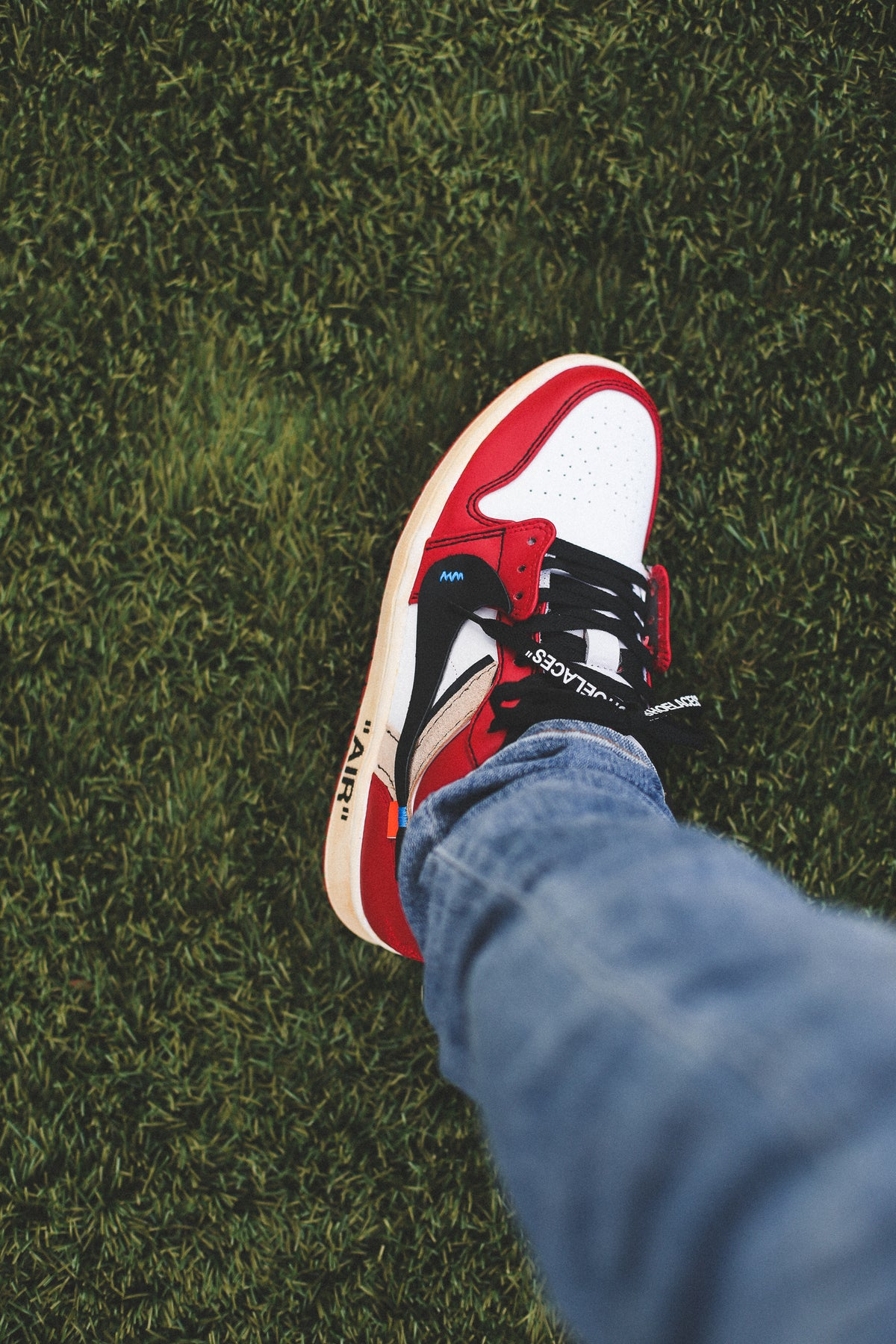 """Image of Chicago 1 low """"off-white"""" inspired"""
