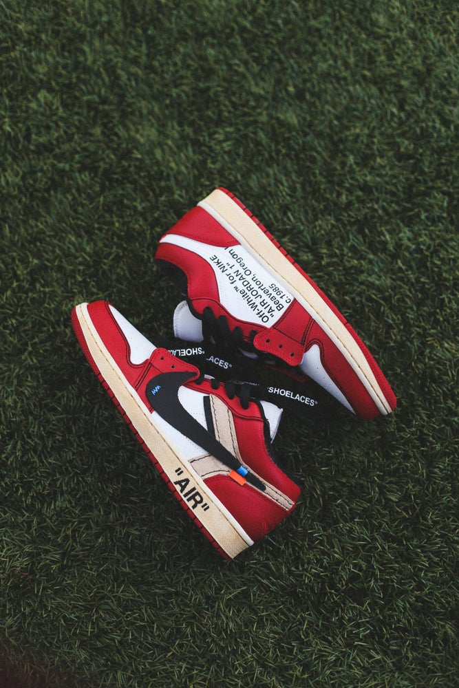 "Image of Chicago 1 low ""off-white"" inspired"