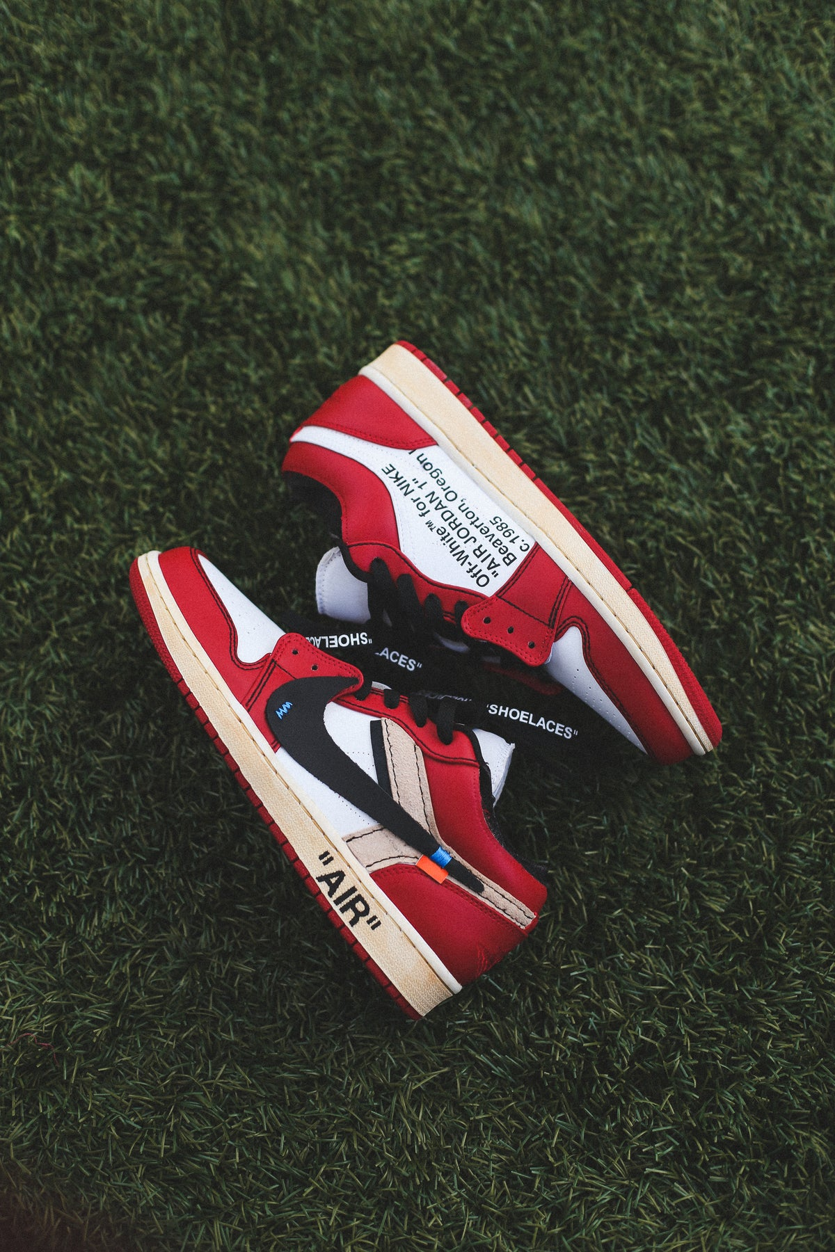 "Hacia Asesor Viaje  Chicago 1 low ""off-white"" inspired 