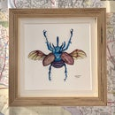 Image 2 of Small Framed Bug Prints