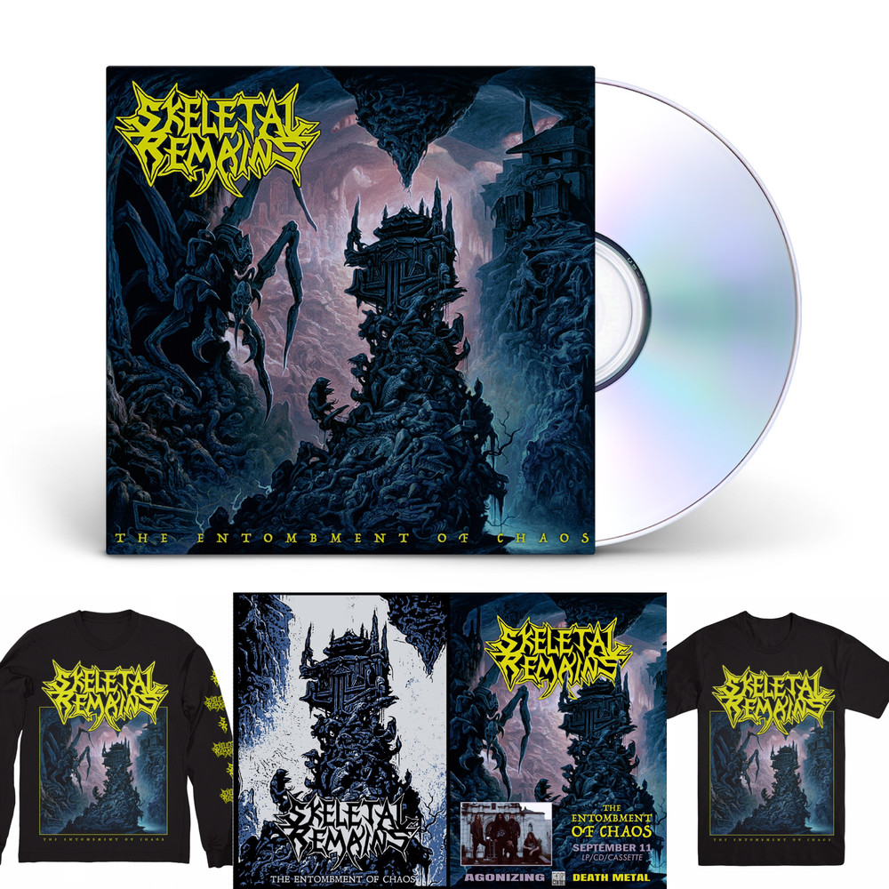 The Entombment Of Chaos CD BUNDLE