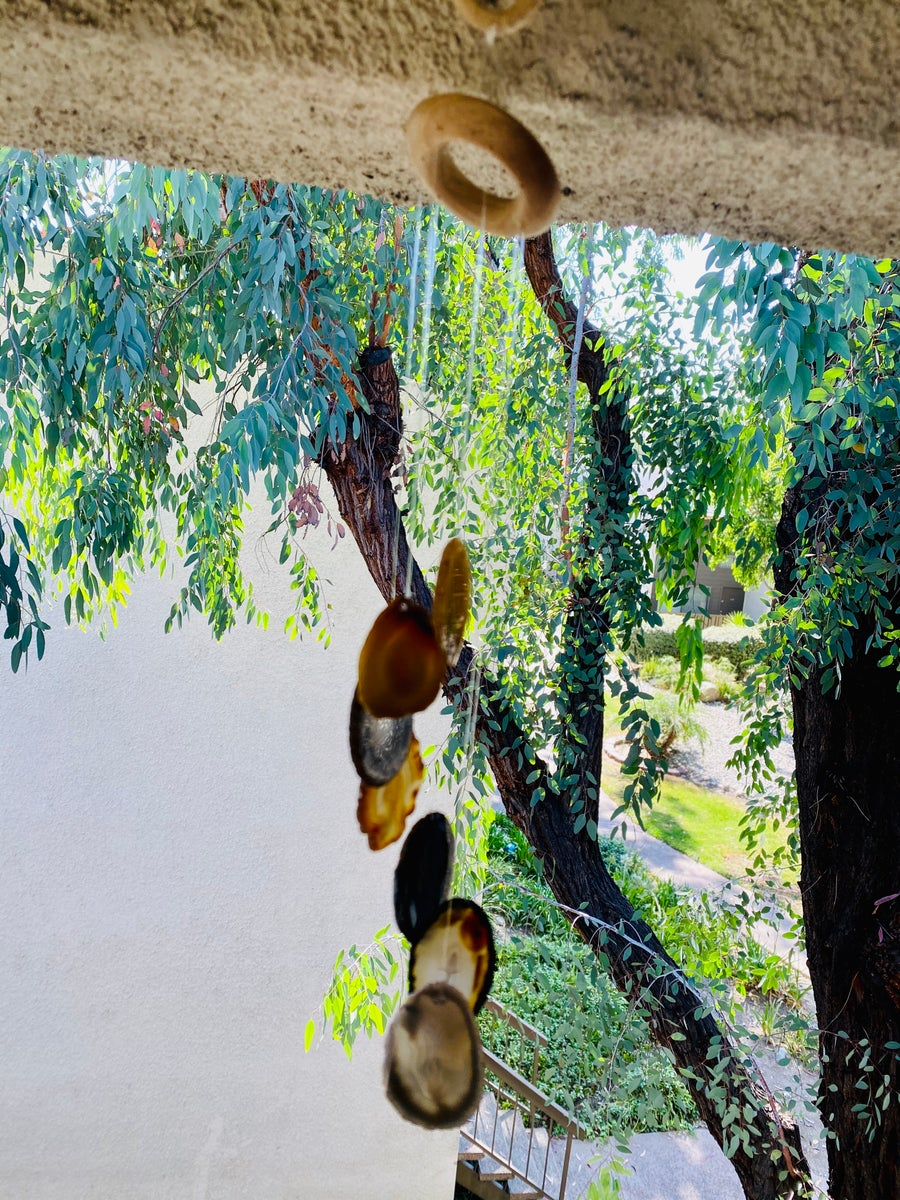 Image of Natural Agate Wind Chime | Good Luck | Protection | Balance