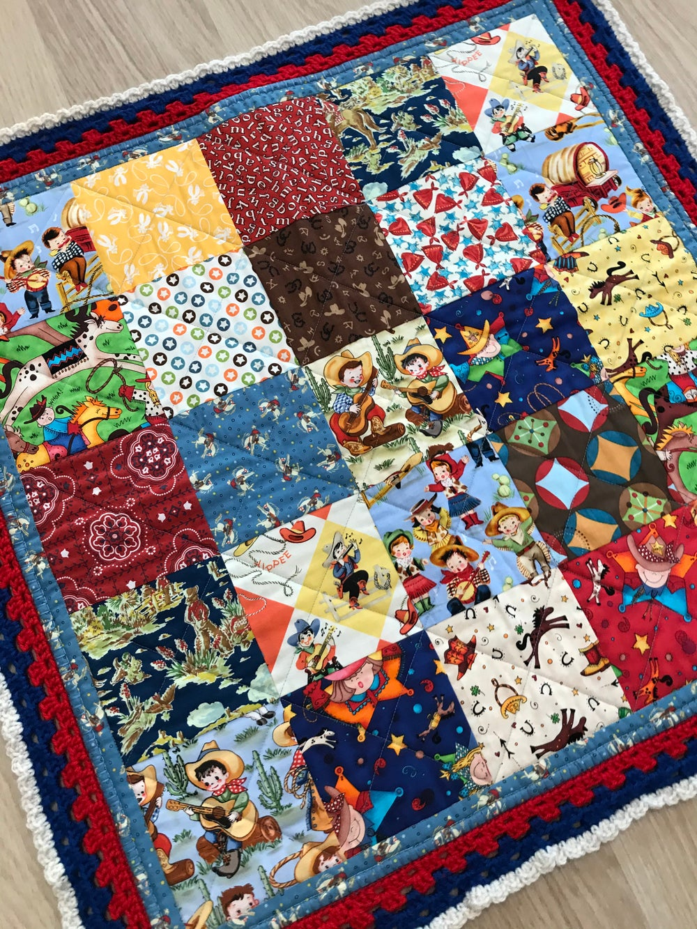 I want to be a Cowboy Quilt