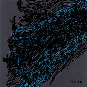 "Image of YVETTE s/t 4-song 7"" (limited edition of 350, hand screen printed)"