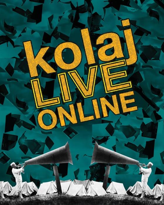 Image of Kolaj LIVE Online Program Book