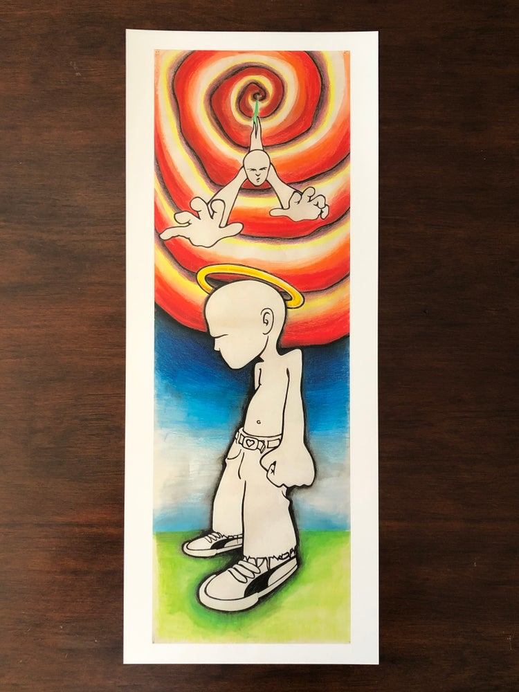 """Image of 8""""x20"""" Angry Youth - Limited Edition Print"""