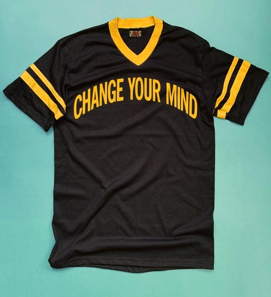 Image of Flocked Change Your Mind Tee - Unisex