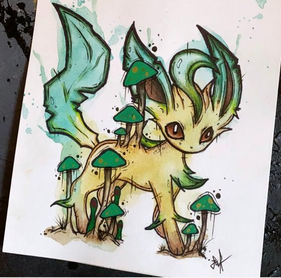 Image of Leafeon Pokémon- Original