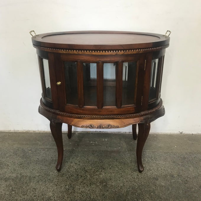 Image of MAHOGANY DRINKS CABINET
