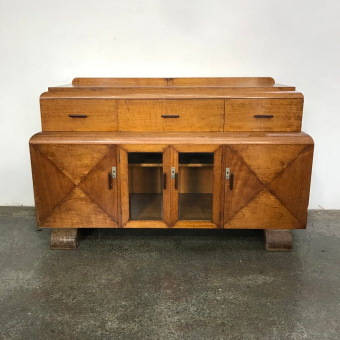 Image of STUNNING ART DECO SIDEBOARD