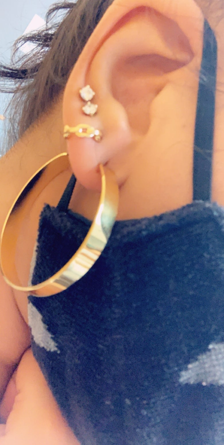 Image of Classic Thick Hoops (not heavy)