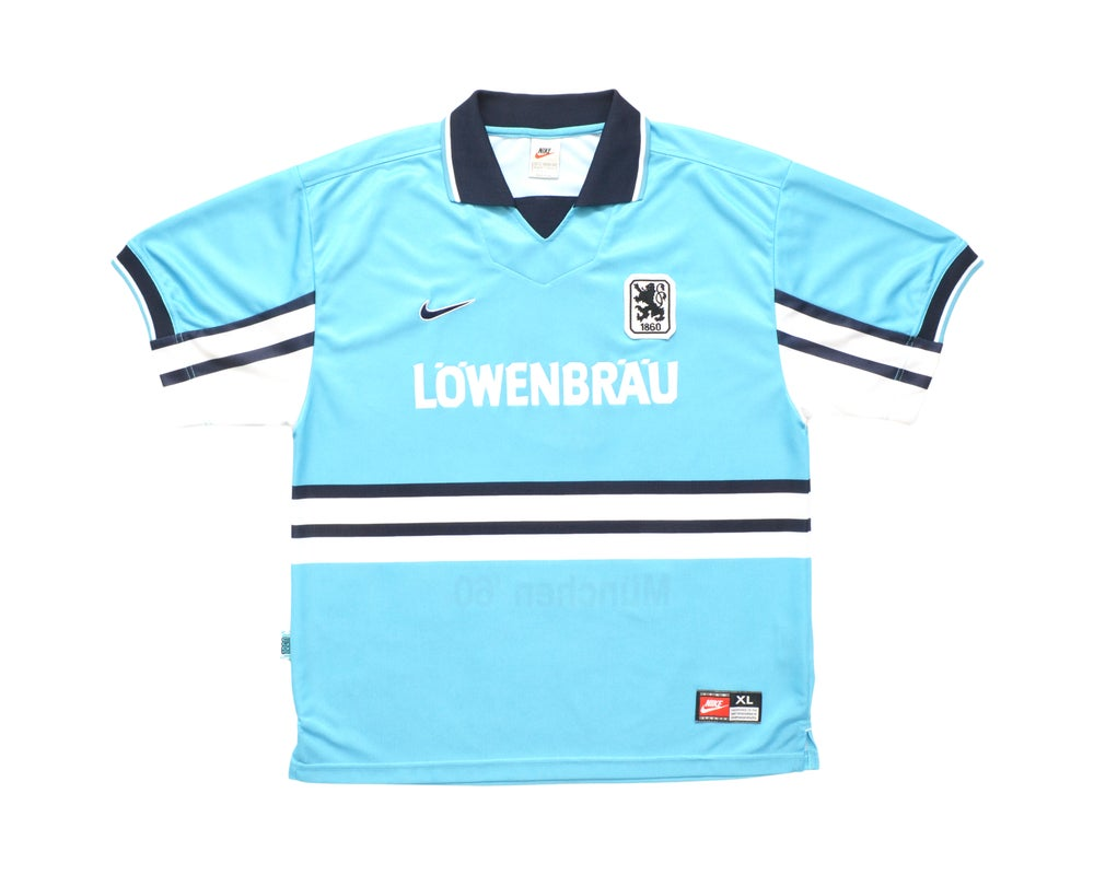 Image of 1997-98 Nike 1860 Munich Home Shirt '9' XL