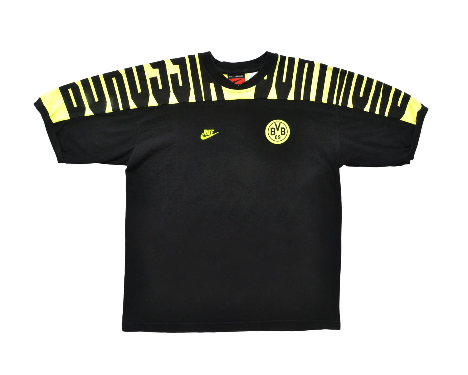 Image of 1995 Nike Borussia Dortmund Training T-Shirt L/XL
