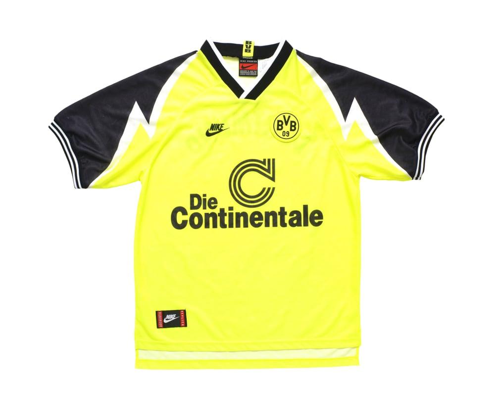 Image of 1995-96 Nike Borussia Dortmund Home Shirt L
