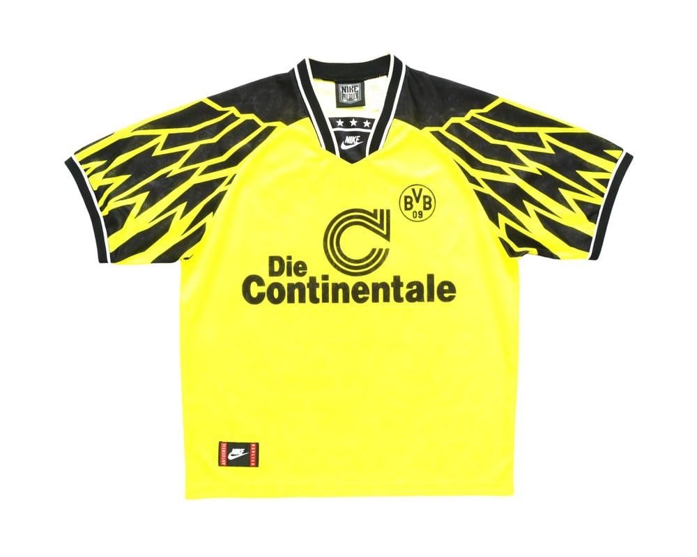 Image of 1994-95 Nike Borussia Dortmund Home Shirt XL