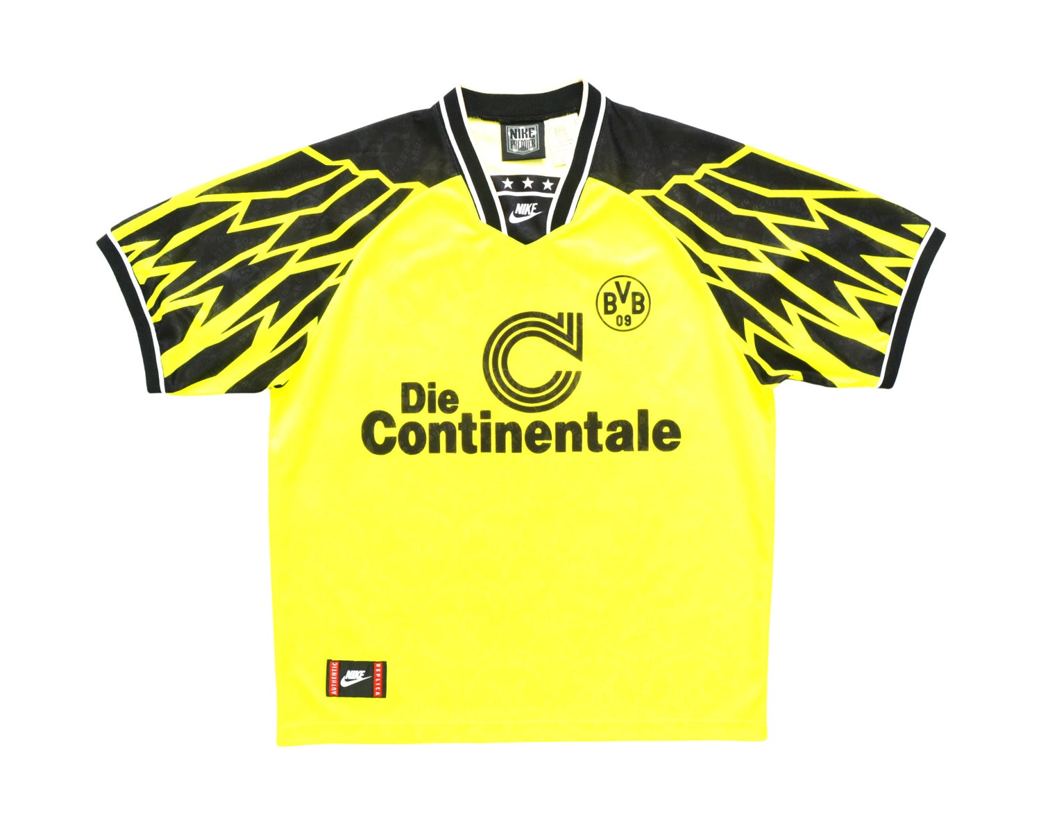 Image of 1994-95 Nike Borussia Dortmund Home Shirt XL