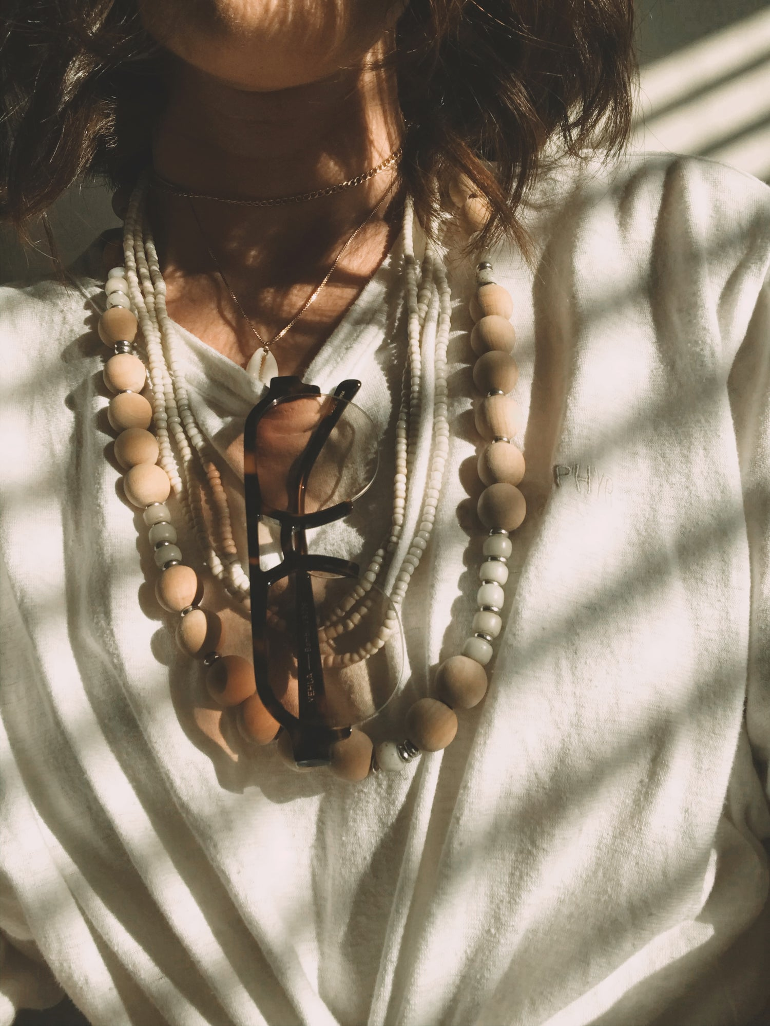 Image of Chunky Love Bead Necklace #111